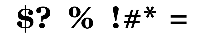 GodOfWar Font OTHER CHARS