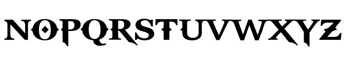 GodOfWar Font UPPERCASE