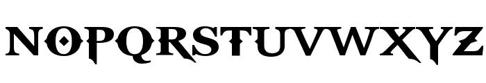 GodOfWar Font LOWERCASE