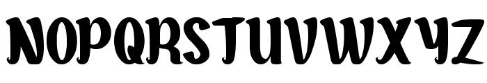 Goddess of Fortune Font UPPERCASE