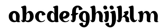 Goddess of Fortune Font LOWERCASE