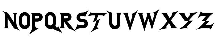 GodofThunder Font UPPERCASE