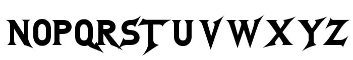 GodofThunder Font LOWERCASE