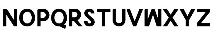 Godus Bold Font UPPERCASE