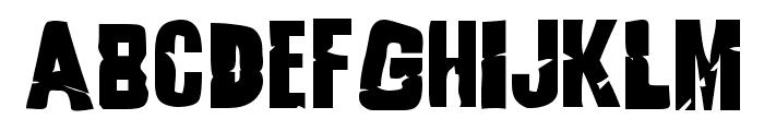 Godzilla Font UPPERCASE