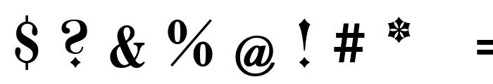 Goeschen Fraktur UNZ1A Italic Font OTHER CHARS