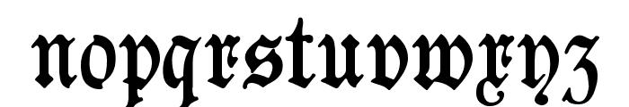 Goeschen Fraktur UNZ1A Font LOWERCASE
