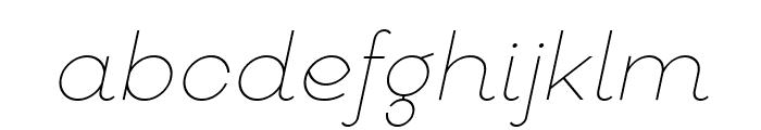 Goeslim Italic Font LOWERCASE