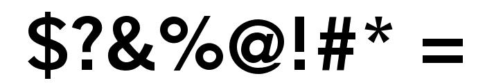 GoetheGothicBold Font OTHER CHARS