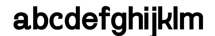 Gogating Book ExtraBold Font LOWERCASE