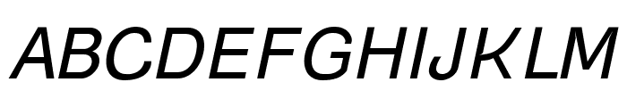 Gogating Book Inktrap Inktraps Italic Font UPPERCASE