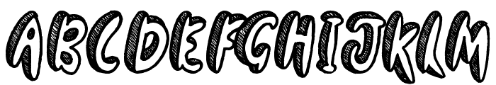 Going Rogue Font UPPERCASE