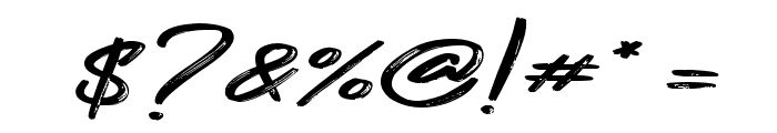 Gojira Black Font OTHER CHARS