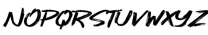 Gojira Black Font UPPERCASE