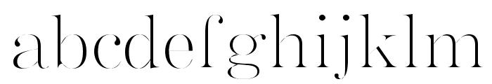 GokubosoGyosho Font LOWERCASE