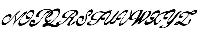 GoldFinger Font UPPERCASE