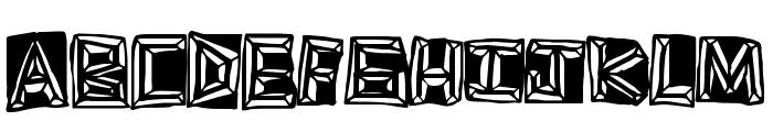 GoldRing Font UPPERCASE