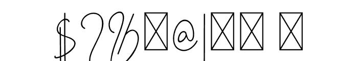 Golden Mind Font OTHER CHARS