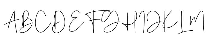 Golden Mind Font UPPERCASE