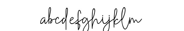 Golden Mind Font LOWERCASE