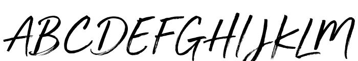Golden Plains Font UPPERCASE