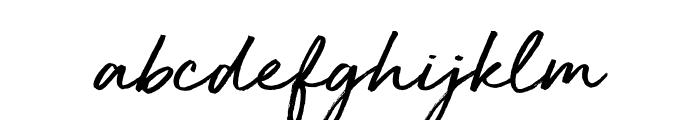 Golden Plains Font LOWERCASE