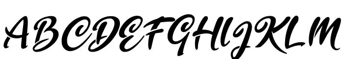 Golden Ranger Font UPPERCASE