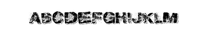 GoldenDabs Font UPPERCASE