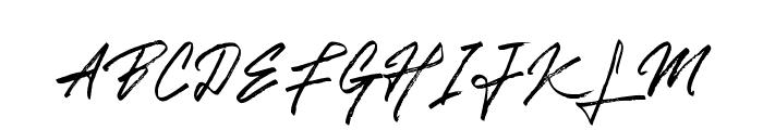 GoldenSignature Font UPPERCASE