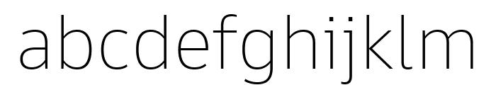 Goldman Sans App Thin Font LOWERCASE