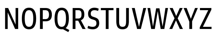 Goldman Sans Condensed App Font UPPERCASE