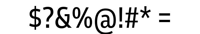 Goldman Sans Condensed Regular Font OTHER CHARS