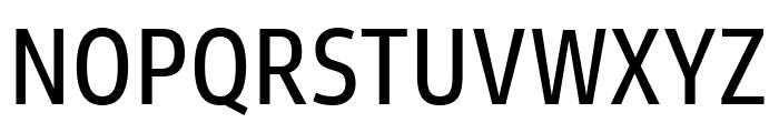 Goldman Sans Condensed Regular Font UPPERCASE