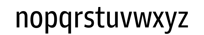 Goldman Sans Condensed Regular Font LOWERCASE