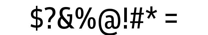 Goldman Sans Condensed VF Regular Font OTHER CHARS