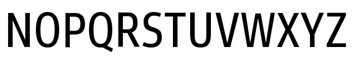 Goldman Sans Condensed VF Regular Font UPPERCASE