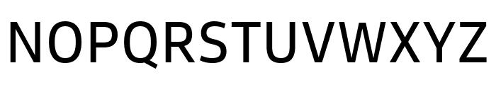 Goldman Sans Regular Font UPPERCASE