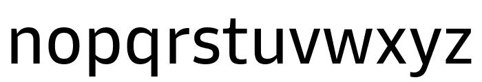Goldman Sans Regular Font LOWERCASE