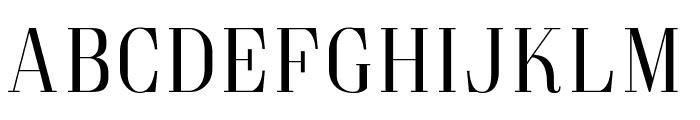 Goldoni Font UPPERCASE