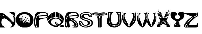 Golf Tools Medium Font UPPERCASE