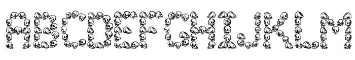 Golgotha Font UPPERCASE