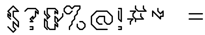 GollanBill Font OTHER CHARS