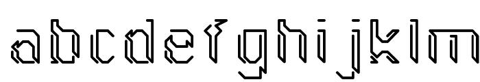 GollanBill Font LOWERCASE