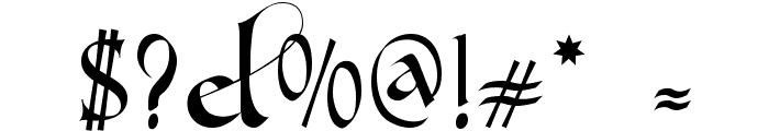 Gondola SD Font OTHER CHARS