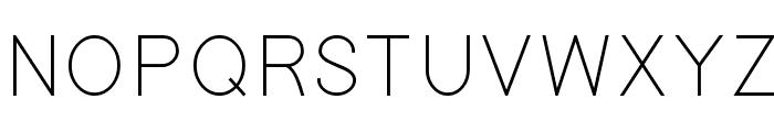Gondola Font UPPERCASE