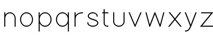 Gondola Font LOWERCASE
