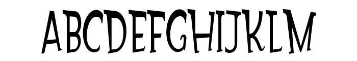 Gondoliere Font UPPERCASE