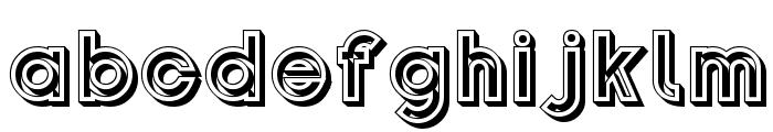 Gondrin Font LOWERCASE
