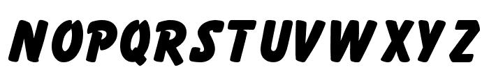 Gonzo Font UPPERCASE