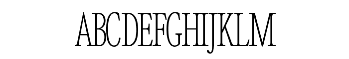 Good Enough Regular Font UPPERCASE